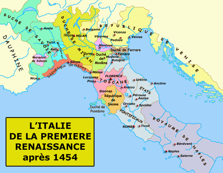 Italie carte politique - La superficie de l italie ...
