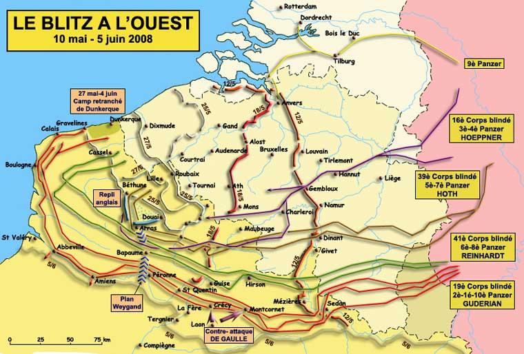 Juin 1940 : la campagne de France