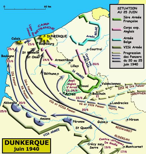 Juin 1940: la bataille de Dunkerque