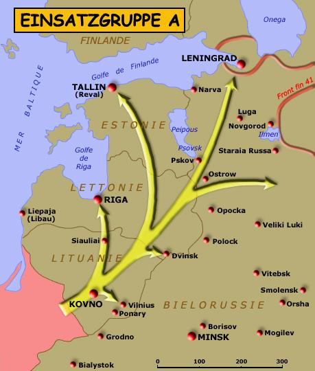 Territoire des opérations de l'EinsatzgruppeA