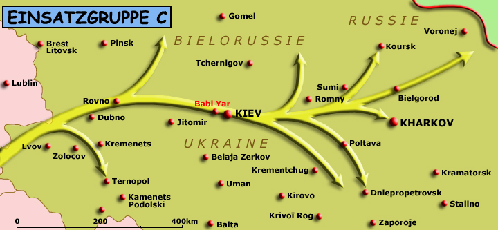 Territoire des opérations de l'EinsatzgruppeC