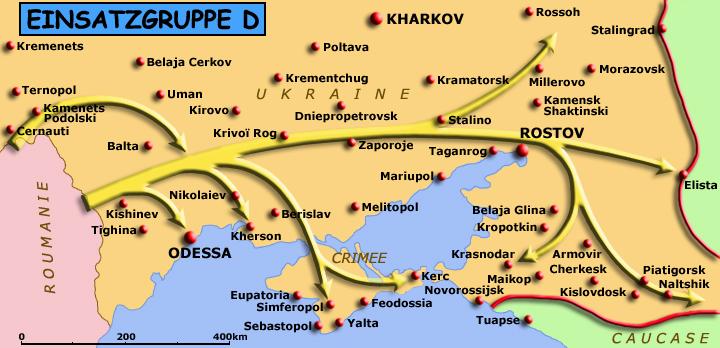 Territoire des opérations de l'EinsatzgruppeD