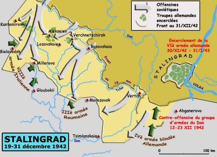 Stalingrad, novembre-décembre 1942 : phase 2