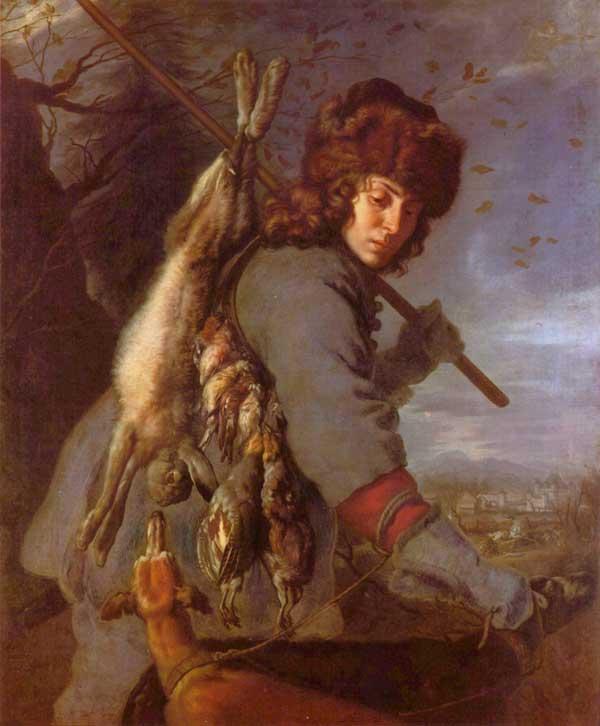 Joachim von Sandrart (1606-1688): allégorie du mois de novembre. Cycle des Mois pour le château de Schleissheim