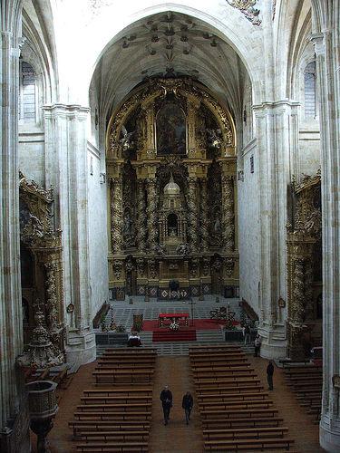 José de Churriguera: retable de l'église dominicaine de San Esteban, à Salamanque. 1693