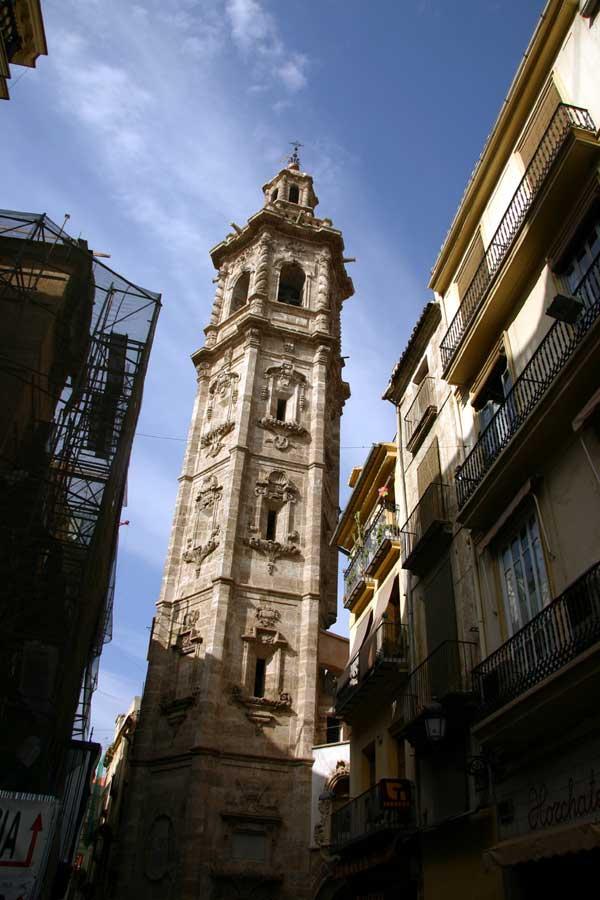 Valence: tour de santa Catalina