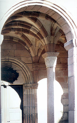 Marmoutier: le porche