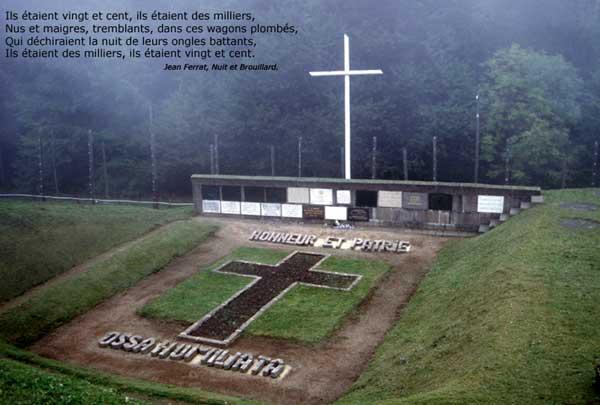 Struthof: «Ossa humiliata»: les ossements humiliés… la fosse aux cendres