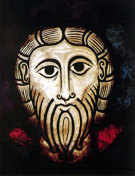 Christ de Wissembourg. Daté de 1060, c'est l'un des plus anciens vitraux figuratifs de France. Il provient de l'abbaye. Conservé au musée de l'œuvre Notre Dame à Strasbourg