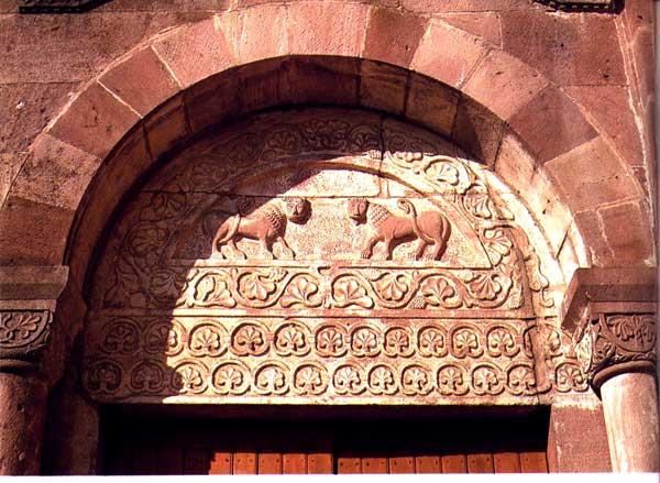 Murbach: portail sud, le tympan