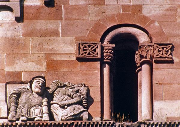 Murbach: sculpture du chevet