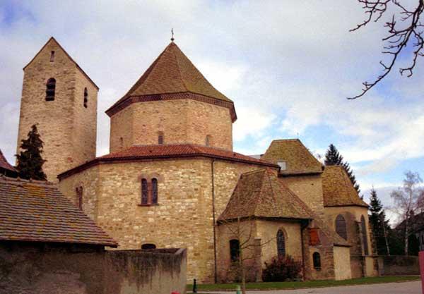 Ottmarsheim: la rotonde carolingienne