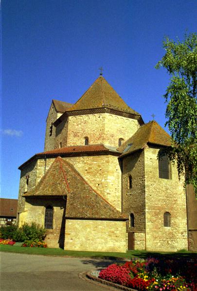 Ottmarsheim: un joyau de l'art préroman