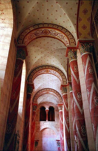 Issoire (Puy du Dôme), saint Austremoine: le bas-côté