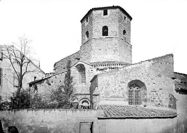Rieux Minervois (Aude): église sainte Marie