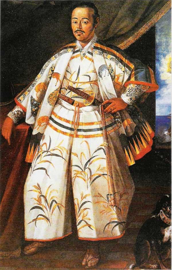 Claude Deruet: le samouraï Tsunenaga Hasekura en ambassade, 161