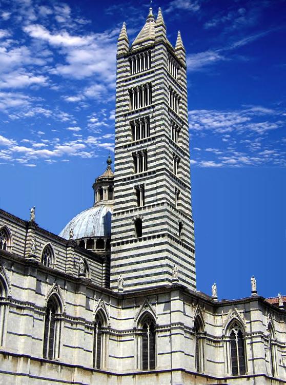 Sienne: la tour du Dôme