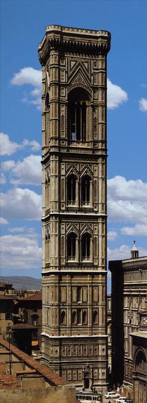 Giotto : Florence: le Campanile du Dôme