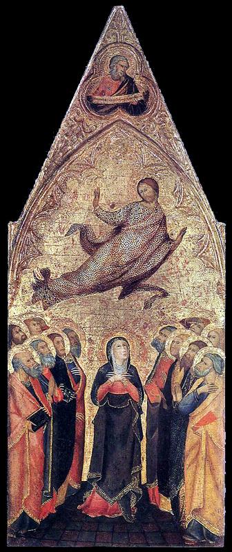 Saint Pierre. 1390. Tempera sur bois, 156 x 42 cm. Boston, Museum of Fine Art