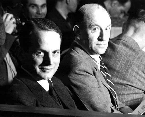 Otto Ohlendorf et Heinz Jost lors de leur procès