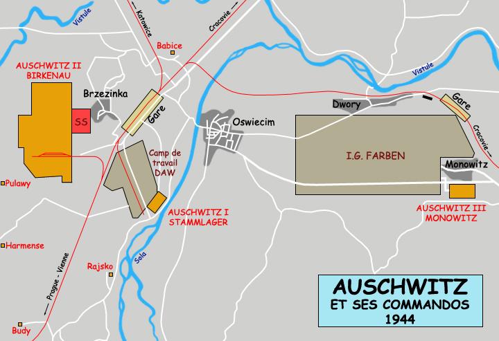 L am nagement du stammlager auschwitz camp de for Site pour plan a trois