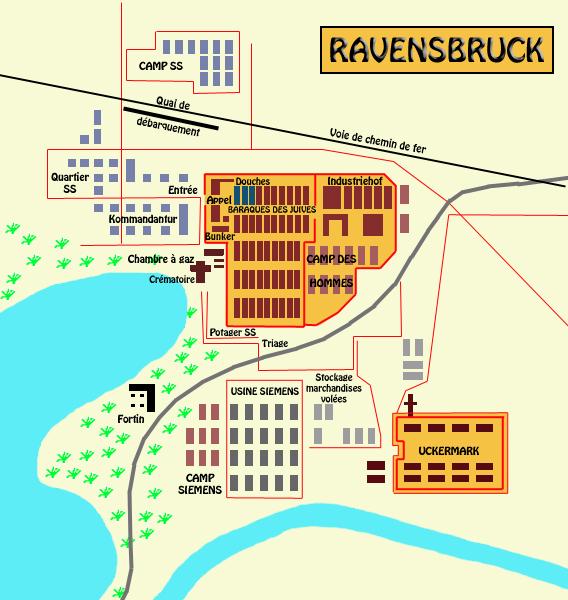 Ravensbrück: plan