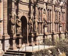 Château de Heidelberg: la façade du prince Otto Henri, 1557-1558