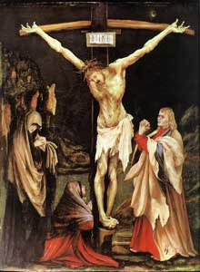 Crucifixion. Vers 1502. Huile sur bois, 61,5 x 46 cm. Washington, National Gallery of Art