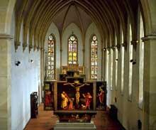 Le retable d'Issenheim dans l'église des Dominicaines d'Unterlinden