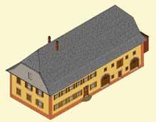 Orbey en «pays welche»: maison alsacienne de type vosgien du Bas d'Orbey. (La maison alsacienne)