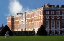 Hampton court: le hall de 1531