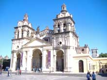 Cordoba en Argentine: la cathédrale