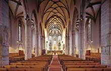 Ansbach en Autriche: la «Hallenkirche» saint Jean