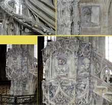 Anton Pilgram (1460-1515): la chaire de la cathédrale de Vienne. 1510