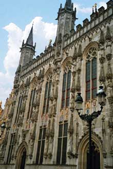 Bruges: l'hôtel de ville