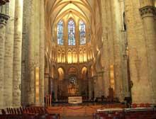 Bruxelles: cathédrale sainte Gudule. La nef