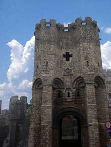 Gand le «Gravenkast», château des comtes