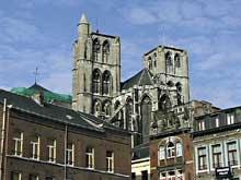 Huy, la collégiale Notre Dame