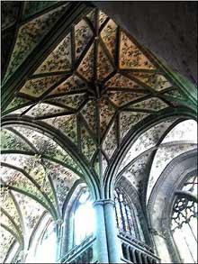 Huy, la collégiale Notre Dame. La croisée