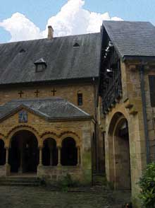 Orval, l'abbaye cistercienne