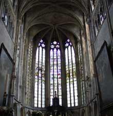 Tongres, la cathédrale Notre Dame. Le chœur