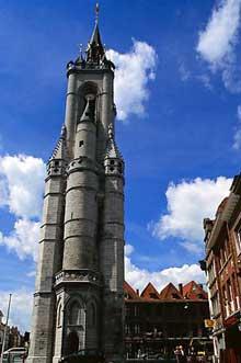 Tournai: le beffroi