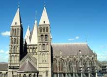 Tournai: la cathédrale