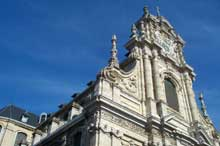 Wilhelm Hésius: Façade de Saint Michel de Louvain