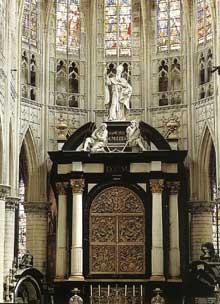 Lucas Faydherbe: maître autel de la cathédrale Saint Rombaut, Malines