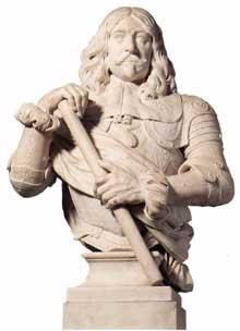 Artus Quellin le Vieux: Luis de Benavides. 1664. Marbre, 98 cm. Anvers, Musées royaux des Beaux Arts
