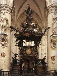 Les Verbruggen: Chaire de Sainte Gudule à Bruxelles. 1695-1699