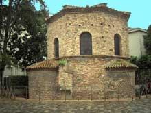 Ravenne: le baptistère des Ariens, fin Vè début VIè