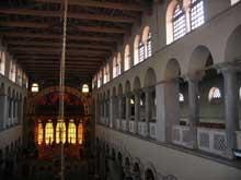 Thessalonique: saint Demetrios. L'intérieur