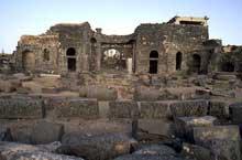 Syrie�: Bosra, ruines de la cath�drale